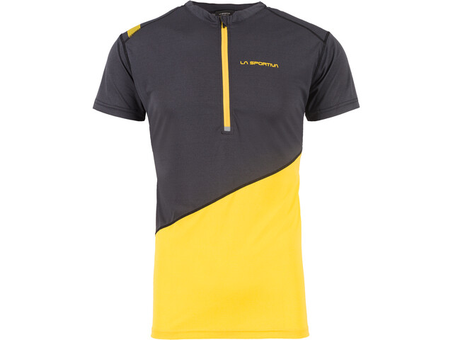 La Sportiva Limitless T-Shirt Homme, black/yellow